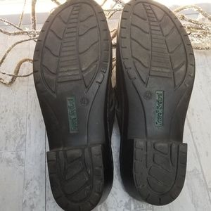 Josef Seibel Shoes - Josef Seible Black Leather Buckle Mules Size 40